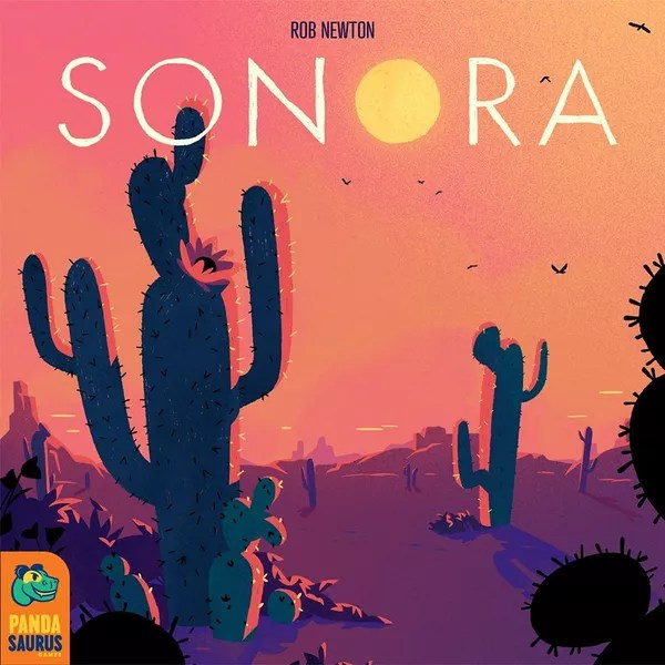 Sonora, Pandasaurus Games, 2020 — front cover