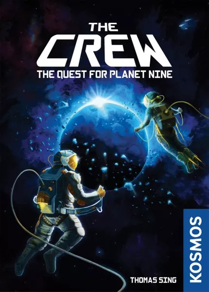 The Crew: The Quest for Planet Nine, KOSMOS, 2020 — front cover (image provided by the publisher)