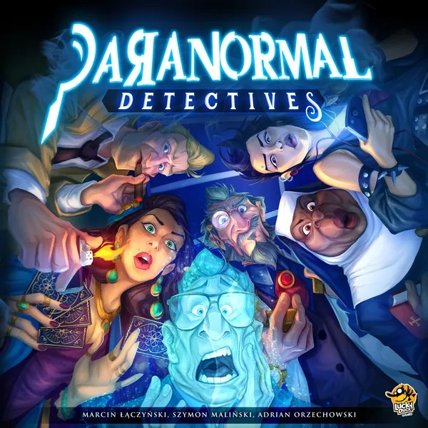 Cover art for Paranormal Detectives