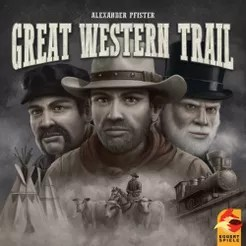 Great Western Trail Cover Artwork