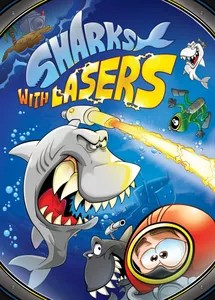 sharks with lasers board