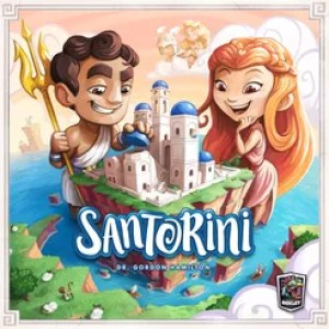 juegos de mesa para 2 - Santorini