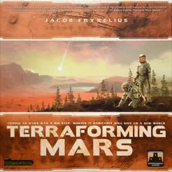 Terraforming Mars Cover Artwork