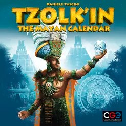 Tzolk'in: The Mayan Calendar Cover Artwork