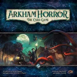 Arkham Horror: The Card Game Cover Artwork