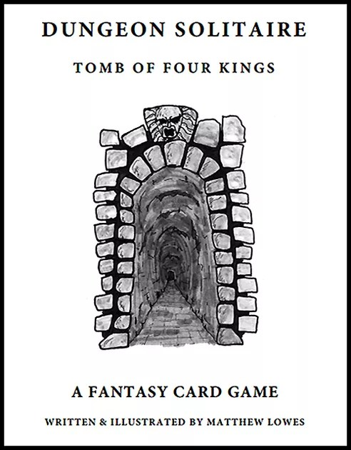 Pocket Mod of Matthew Lowes Dungeon Solitaire Rules