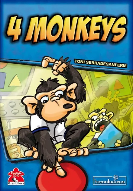 4 Monkeys Images : monkeys, images, Monkeys, Board, BoardGameGeek
