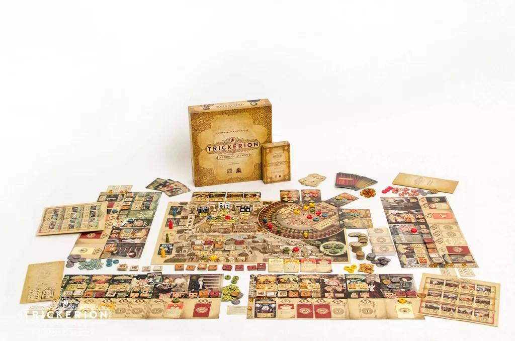 Dahlgaard's Academy juego de mesa
