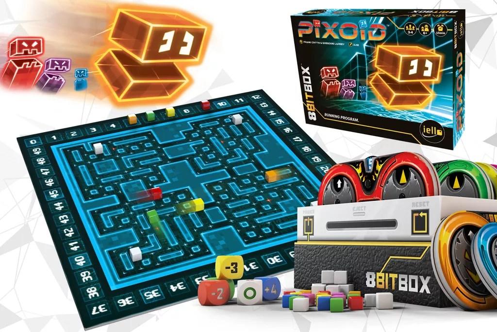 8bit box juego de mesa