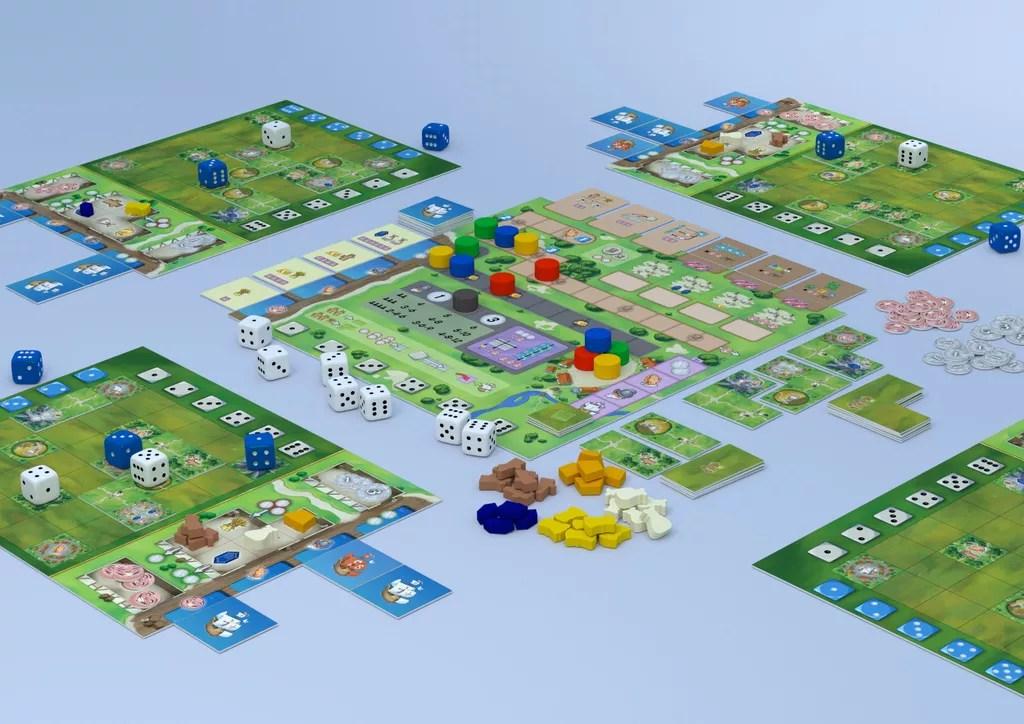 Santa Maria American Kingdoms juego de mesa