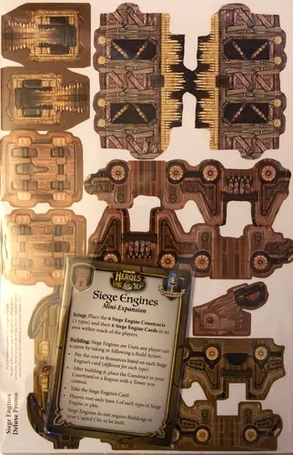 Image result for heroes of land, air and sea siege engine