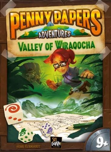 Penny Papers Adventures juego de mesa