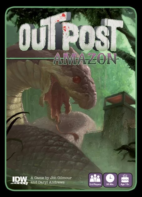 Image result for Outpost: Amazon board game