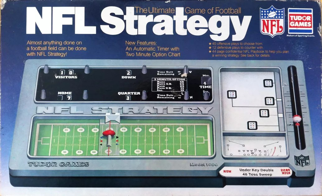 nfl strategy board game
