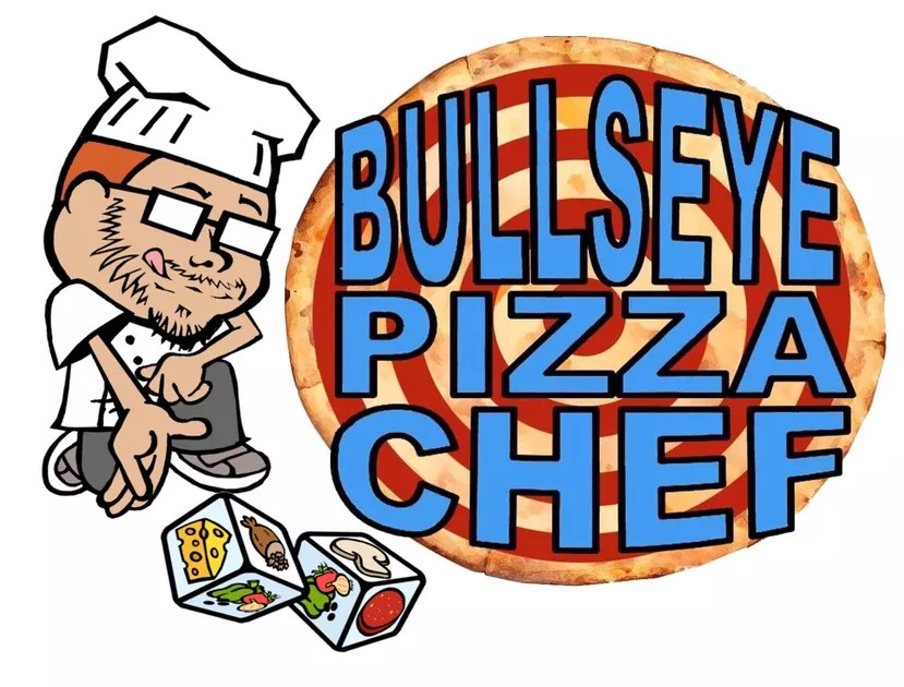 bullseye pizza chef board