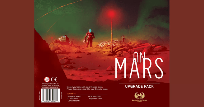 Image result for on mars board game upgrade pack