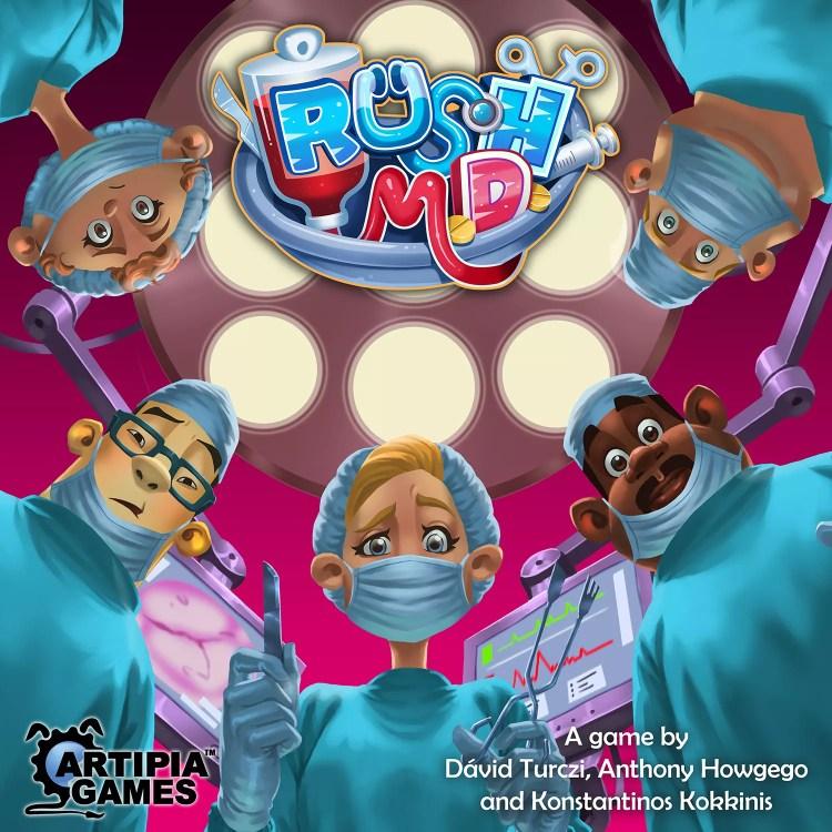 Rush MD Portada