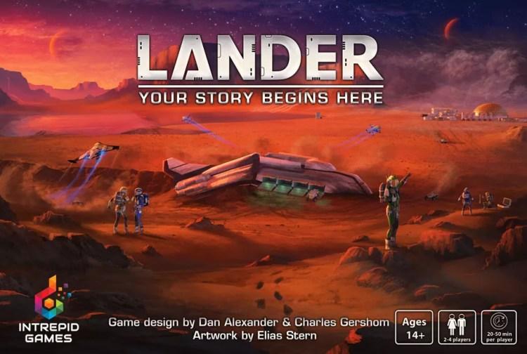 Lander - Essen Spiel 2019