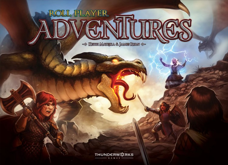 mejores kickstarter segunda quincena de Junio - Roll player Adventures