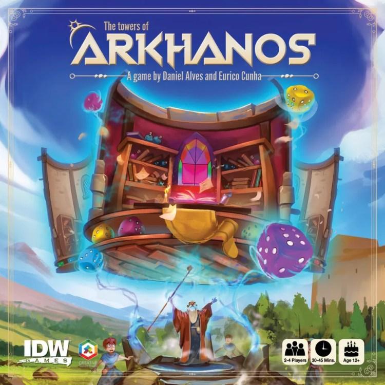 Los mas jugados Enero - juegos de mesa - The towers of Arkhanos