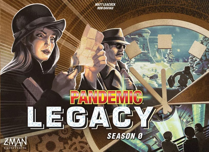 Pandemic Legacy: Season 0 Box Cover