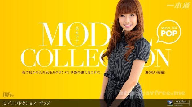 一本道 060311_107 Model Collection select...104 ポップ