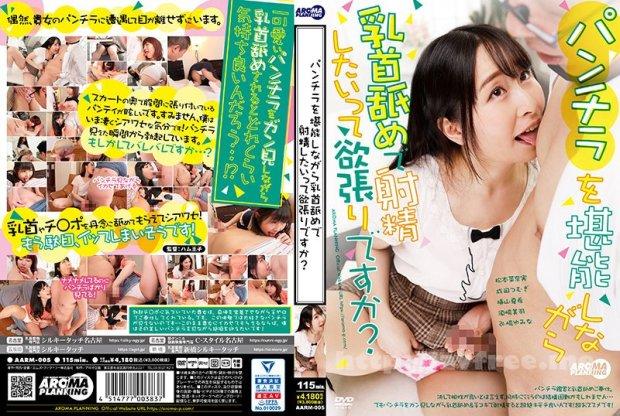 [HD][AARM-005] パンチラを堪能しながら乳首舐めで射精したいって欲張りですか?