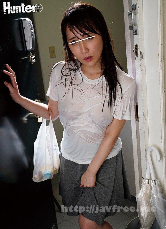 [HD][HUNTA-880] 『ヤダびしょ濡れ!』ゲリラ豪雨で買い物帰りの義姉のTシャツがびしょ濡れ!近所で油断したのかまさかのノーブラ!濡れたTシャツから乳首が透けて…