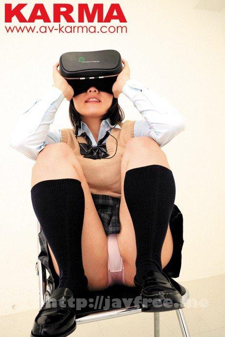 [HD][KAR-979] VRに夢中になっている制服美少女たちの胸チラパンチラ盗撮動画