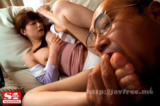 [SSNI-191] 毎日エスカレートしていく義父の粘着ベロ舐め性交の虜になった美人妻アキホ 吉沢明歩