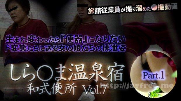 XXX-AV 23714 しら○ま温泉宿和式便所 vol.7 Part1