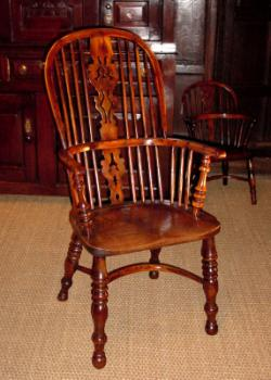 antique windsor chairs reclining patio chair lovetoknow a splat back chairsource