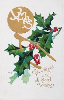 Antique Christmas Postcards LoveToKnow