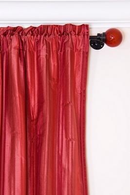 glass finial curtain rods lovetoknow