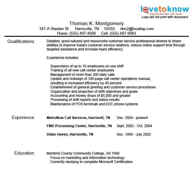 resume title examples customer service examples of resumes - Resume Headline Examples For Customer Service