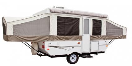 finding pop up camper