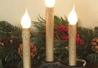 Christmas Candles For Windows
