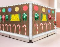 Christmas Decorations For Cubicles Using Candy Canes | www ...