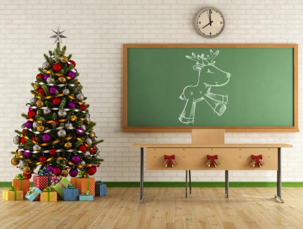 Classroom Christmas Decorations For High School