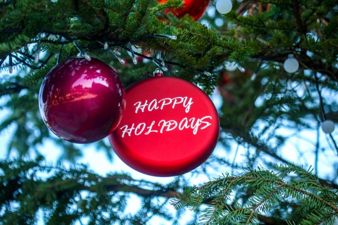 Happy Holidays Ornaments Source When You Re