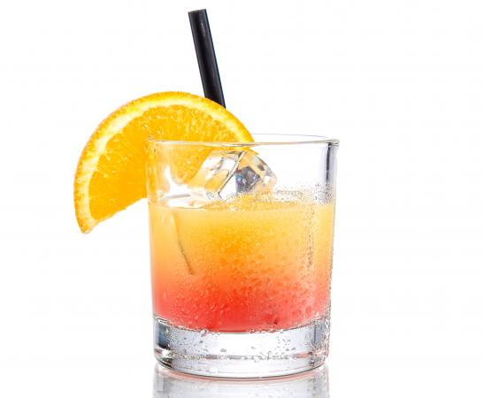 Drink with Orange Juice Vodka and Grenadine LoveToKnow