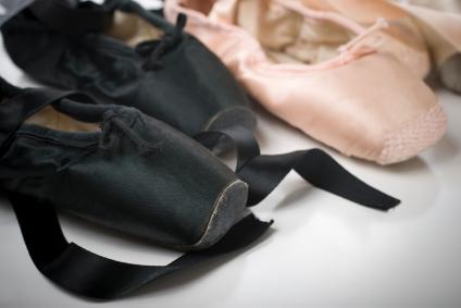 Ballerina Pointe Shoes LoveToKnow