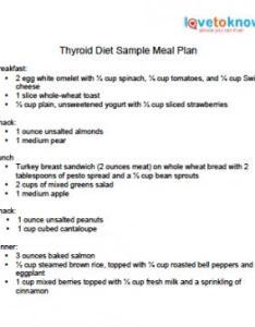 Download  sample thyroid diet meal plan also rh lovetoknow