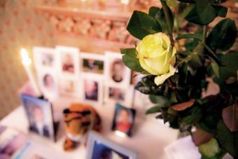 creative funeral memory board ideas
