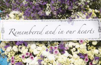 We hope that they beauty of flowers can express what we cannot. What To Write On A Funeral Wreath Heartfelt Messages Lovetoknow
