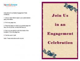 Fuchsia Enement Invitation
