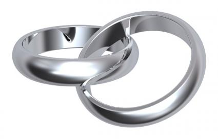 Unique Silver Wedding Band Pictures  LoveToKnow