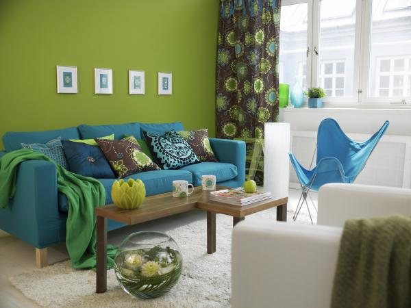 small living room sofa color sparta italian leather sectional feng shui tips for choosing colors your lovetoknow blue in