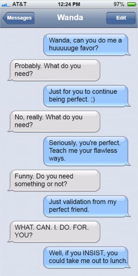 Random Stuff To Send To Your Friends : random, stuff, friends, Texts, Friend, LoveToKnow