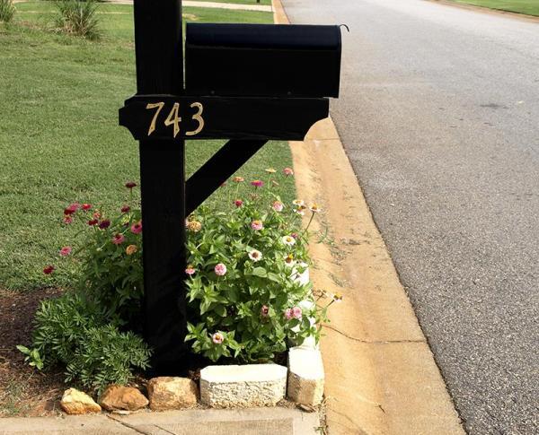 mailbox landscape design slideshow